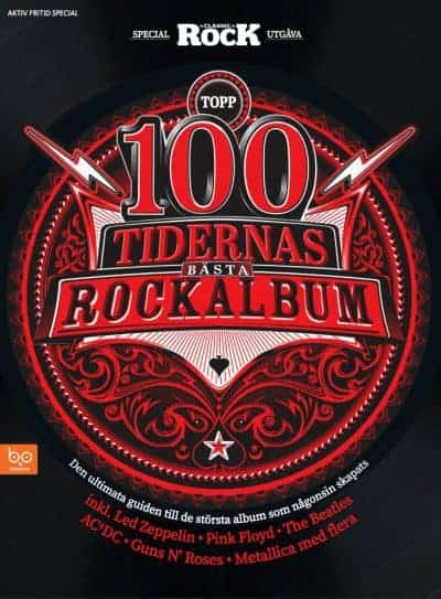 Topp 100 – Tidernas bästa rockalbum