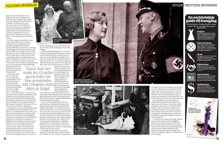 Hitlers brittiske beundrare, uppslag