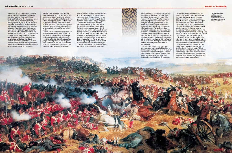 Waterloo, uppslag
